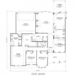 floor plans with large kitchens one story house plans with large kitchens myideasbedroom