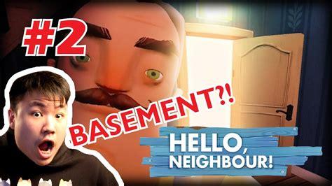 masuk ke basement misterius hello neighbor indonesia alpha 1 access gameplay 2