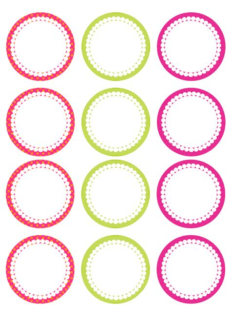 printable label summer mini kit free printable