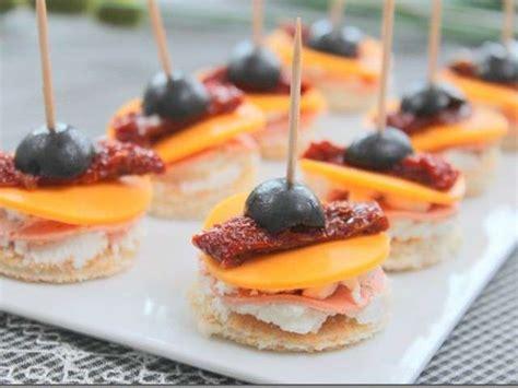 idée canapé apéro les meilleures recettes d 39 amuse bouche et tomates