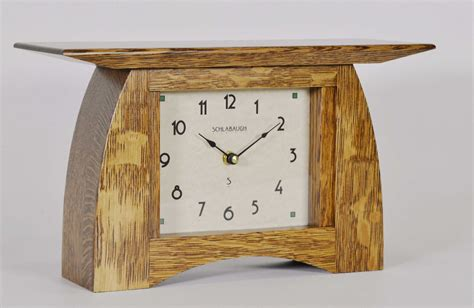 arts  crafts mantel clock plans crafting