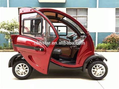 Buy Electric Vehicle by Electric Vehicle Mini Electric Car 4 Wheel Scooter