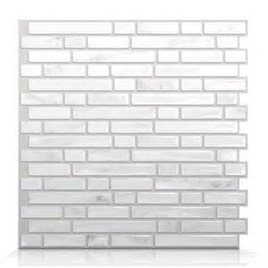 smart tiles sm1044 bellagio marmo self adhesive wall tile