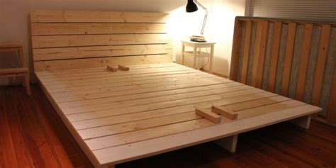 How To Build A Platform Bed by 15 Diy Platform Beds That Are Easy To Build Home And