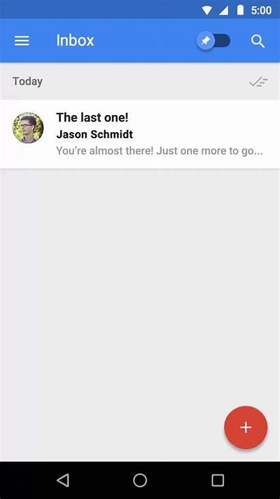 Experience Animation User App Mobile Inbox Zero
