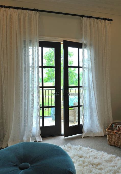 door window curtains for your patio ideas