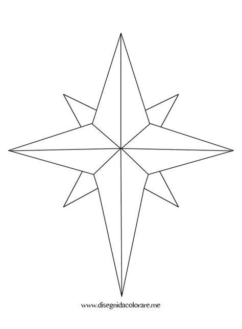 stella stilizzata disegni da colorare