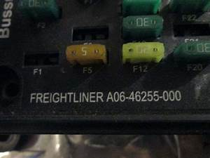 2007 Used Freightliner Business Class M2 106 Fuse Panel