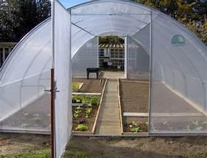 Serre Tunnel De Jardin : serre tunnel tout savoir sur la serre tunnel de jardin ~ Melissatoandfro.com Idées de Décoration