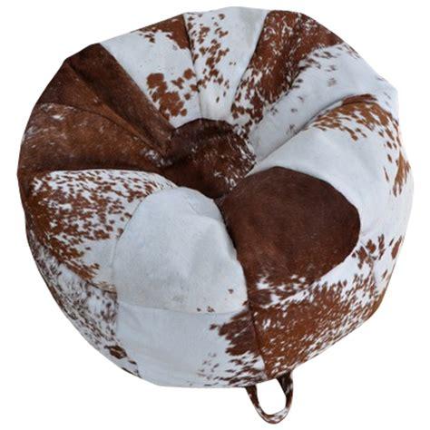 Cowhide Bean Bags by Cowhide Bean Bags Mohair More