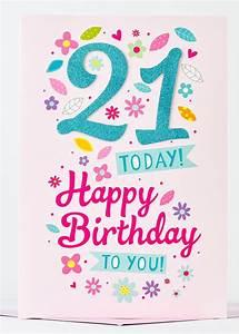 cute 21st birthday card - 9 Happy Birthday