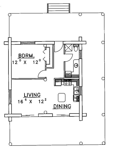 1 bedroom cabin plans 301 moved permanently