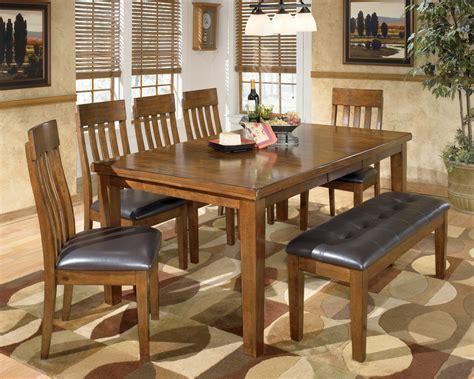 ralene large upholstered dining room bench  ashley