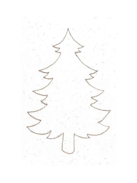 printable christmas tree fillable printable