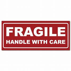 Small Fragile Handle With Care Stickers