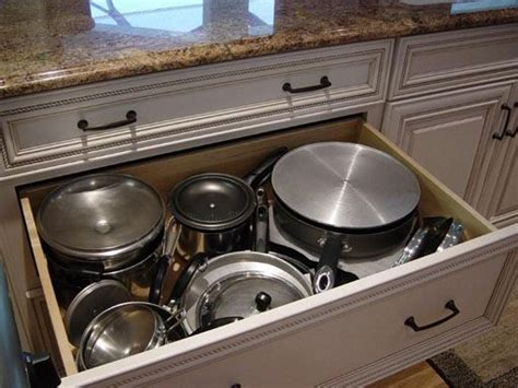 Kitchen Drawers For Pots And Pans  Google Search