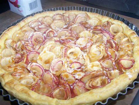 du bruit dans ma cuisine tarte aux pommes en fleur du bruit dans ma cuisine