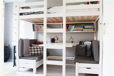 canapé 2 places convertible ikea loft beds with desks underneath 30 design ideas with
