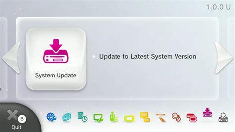Wiiu Firmware Information