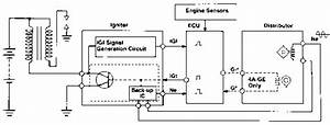 No Spark Output - Toyota Engine Control Systems