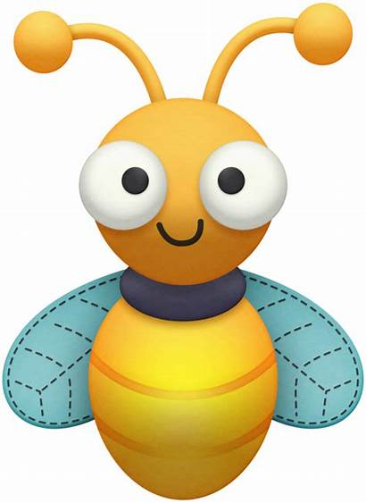Clip Clipart Firefly Bugs Bee Bees Bug