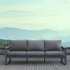 Lounge Sofa Outdoor : outdoor sofas lounge furniture the home depot couch plans swing surprising outside covers diy ~ Markanthonyermac.com Haus und Dekorationen