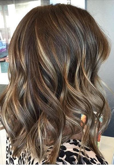 multi toned brunette mane interest