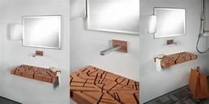 Holz Für Badezimmer : waschbecken ideen ~ Frokenaadalensverden.com Haus und Dekorationen