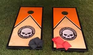 Harley-Davidson Corn Hole Boards