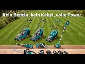 Bosch Akku Rasentrimmer 36v : bosch 36 volt lithium ionen akkusystem power4all youtube ~ Watch28wear.com Haus und Dekorationen