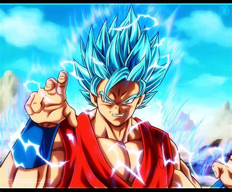 Goku Ssj 2  (dios) By Naruto999byroker On Deviantart
