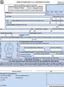Us Passport Renewal Application Form