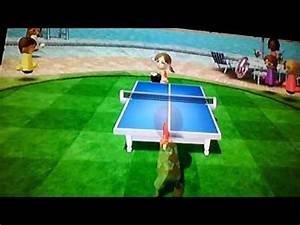 Wii Sports Resort - Table Tennis Champion - ParksA.N.T vs.Champion Lucia - YouTube  Table Tennis Sports