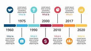 Vector Arrows Timeline Infographic  Diagram Chart  Graph