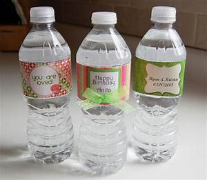 personalized water bottle labels a cherry on top With customize water bottle labels