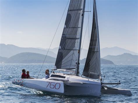 Trimaran Boat For Sale by Used Corsair 760 Trailerable Trimaran For Sale Boats For