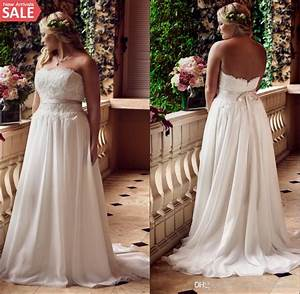 discount plus size lace beach wedding dresses 2016 big With cheap big girl wedding dresses