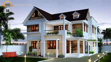 Nice New Home Plans For 2015 #11 Kerala House Design