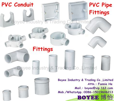 china pvc electrical wiring cable protector conduit pipe accessories fitting china accessories