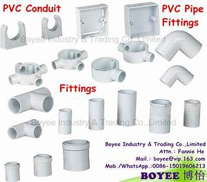 China Pvc Electrical Wiring Cable Protector Conduit