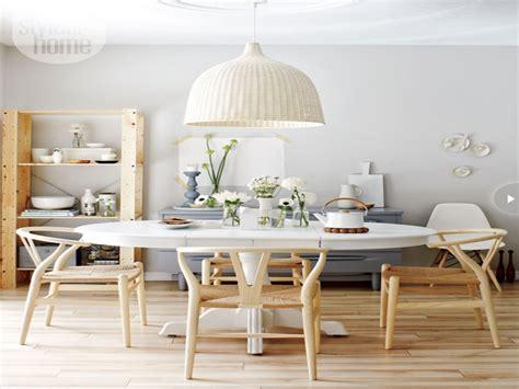 Scandinavian Style Dining Room, Scandinavian Dining Room