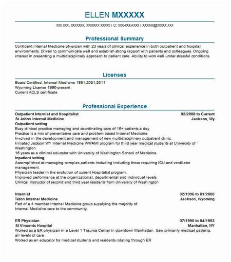 Define Resume Summary by 15 Clinical Experience On Resume Technology