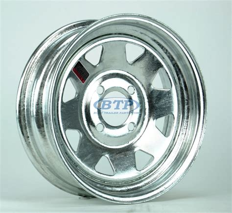 13 Inch Boat Trailer Wheels And Tires by Boat Trailer Wheel 13 Inch Galvanized 4 Lug 4 On 4