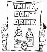 Coloring Drug Drink Drugs Printable Teacher Doghousemusic Coloringpagesfortoddlers sketch template