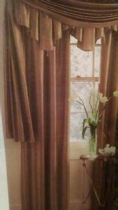 jcpenney silk drapes jcpenney home 100 silk copper brown drape curtain panel