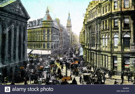 Mansion House And Cheapside London 20th Century Stock