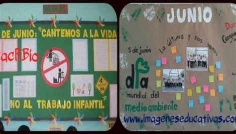 magnificas ideas el peri 211 dico mural de junio mes del medio ambiente 03 lenguaje l 218 dico