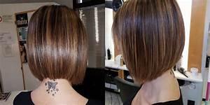 Carré Mi Long Plongeant : carr mi long plongeant coupe de cheveux femme ~ Dallasstarsshop.com Idées de Décoration