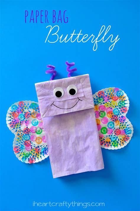 paper bag butterfly craft pre school 280 | 0a1217870501a2c16c644d5a6b4776b6