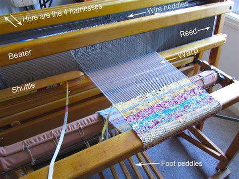 Wire Harnes Weaving by The Silly Boodilly The Loom